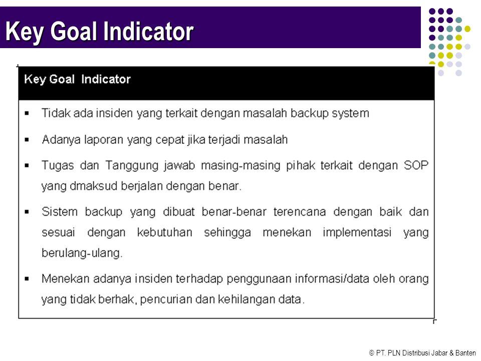 © PT. PLN Distribusi Jabar & Banten Key Goal Indicator