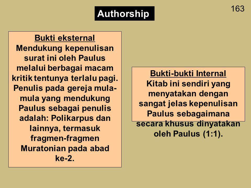 162 Aplikasi 1.Bagi jemaat sekalian: Berapa sering anda mengkritik para pemimpin rohani anda? (dengan kata lain, apakah anda memiliki masalah dengan k