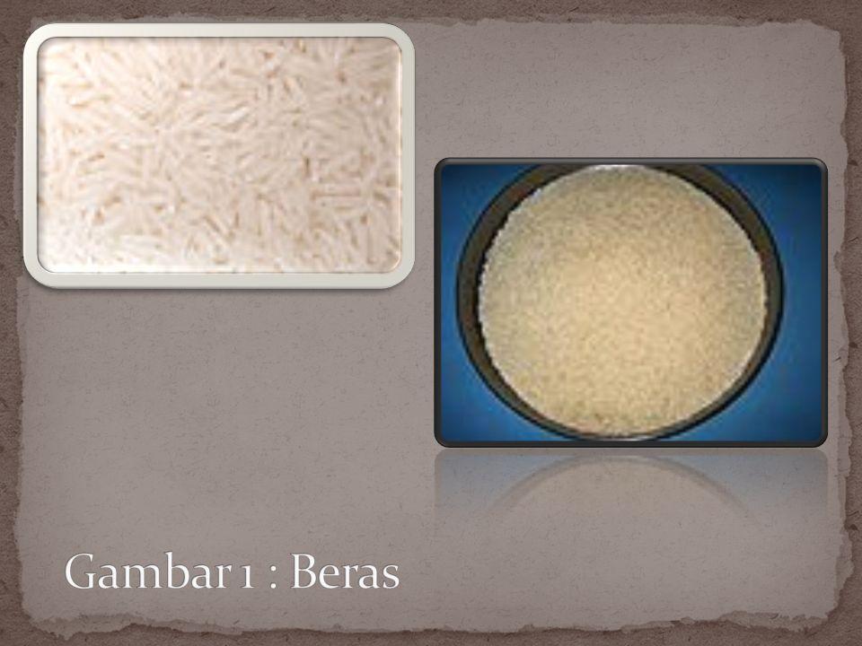 BERAS Dimanfaatkan terutama untuk diolah menjadi nasi, makanan pokok terpenting warga dunia.