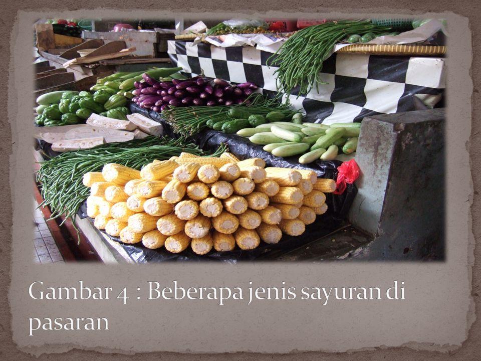 Sayur merupakan nama yang diberi kepada makanan pokok yang dikonsumsi oleh manusia, tetapi tidak termasuk dalam kategori buah-buahan, kacang- kacangan