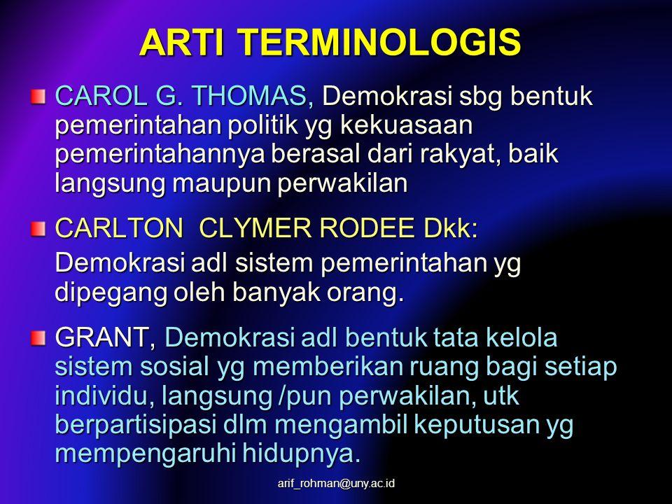 ARTI TERMINOLOGIS CAROL G.