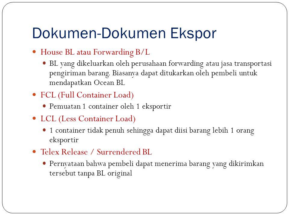 Certificate of Origin Surat keterangan asal (SKA).