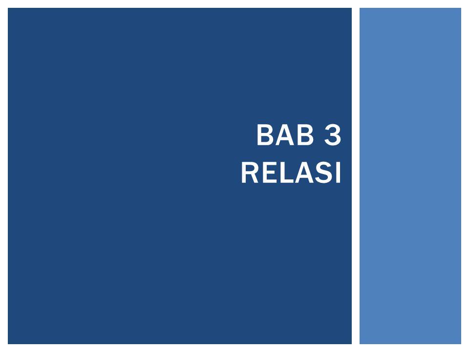BAB 3 RELASI