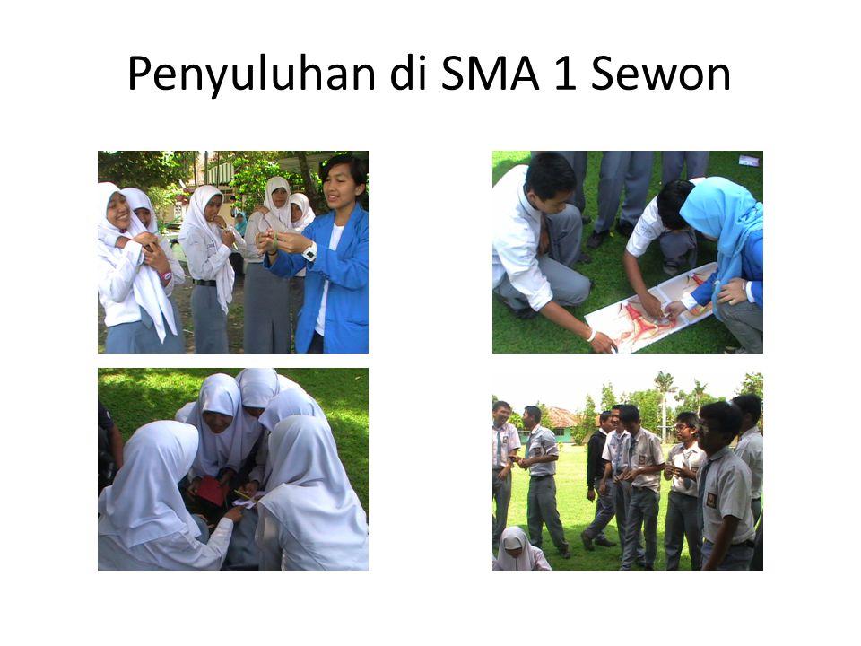 Penyuluhan di SMA 1 Sewon