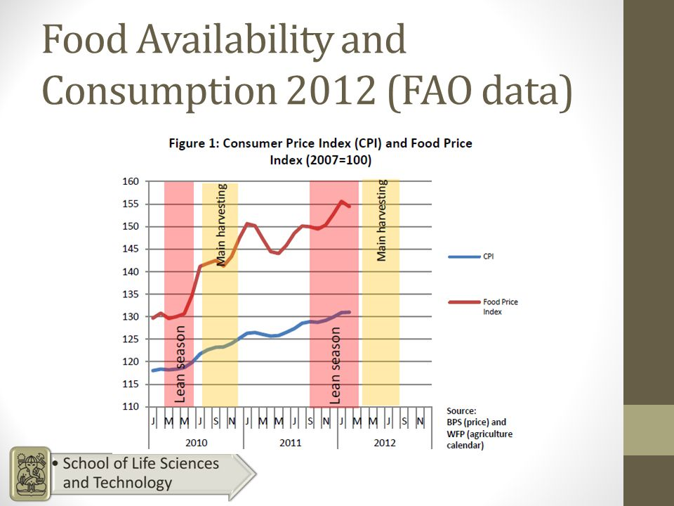 Food Availability and Consumption 2012 (FAO data)
