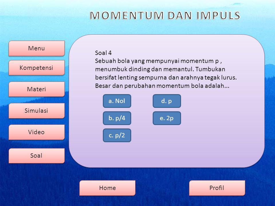 Menu Kompetensi Soal Video Simulasi Materi Profil Home Soal 4 b.