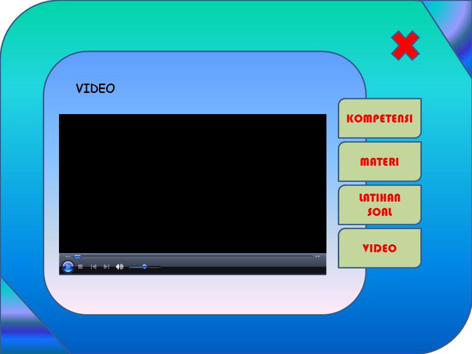 KOMPETENSI MATERI VIDEO LATIHAN SOAL VIDEO