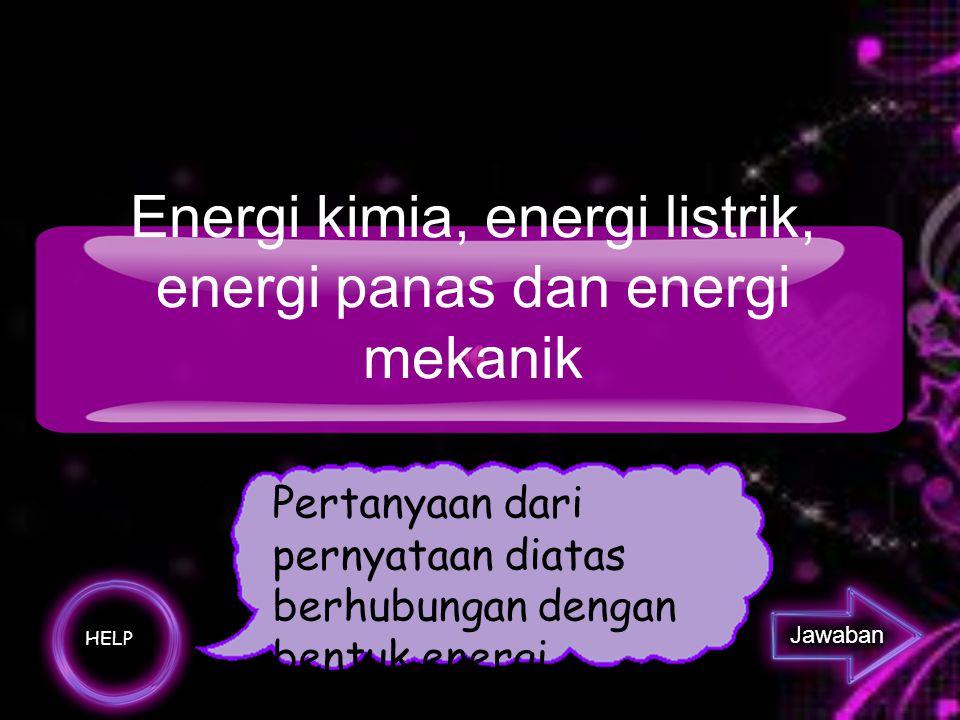 Apakah Satuan ENERGI?