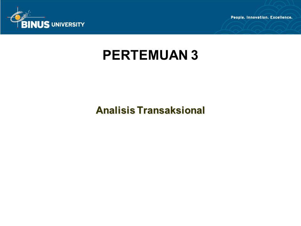 PERTEMUAN 3 Analisis Transaksional
