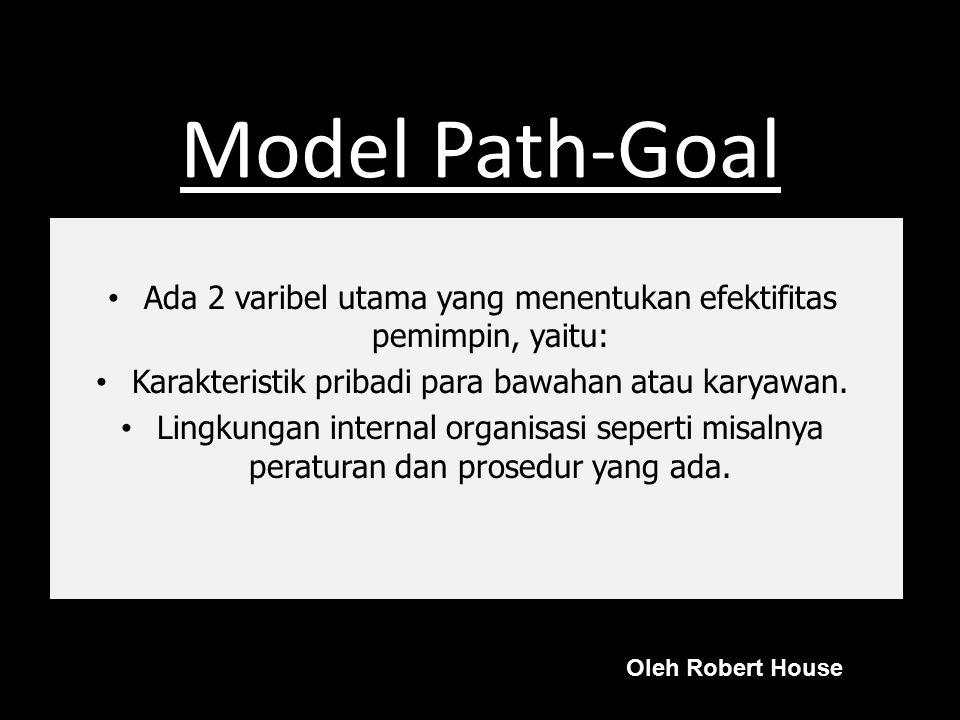 Model Vroom-Yetton Pola umum gaya kepemimpinan dalam pengambilan keputusan, yaitu: Autocratic I Autocratic II Consultative I Consultative II Group II