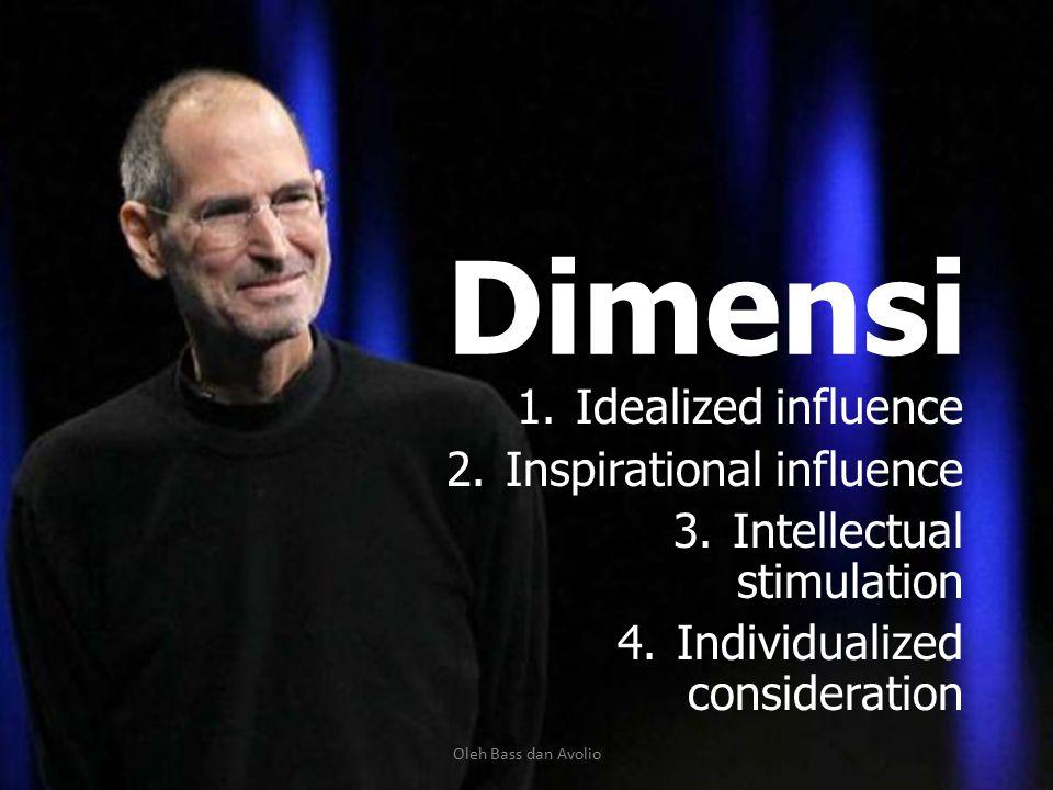 Kepemimpinan Transformasional Perbedaannya: 1. Berusaha untuk meningkatkan kebutuhan dari para bawahannya. 2. Berusaha agar para bawahannya juga menja