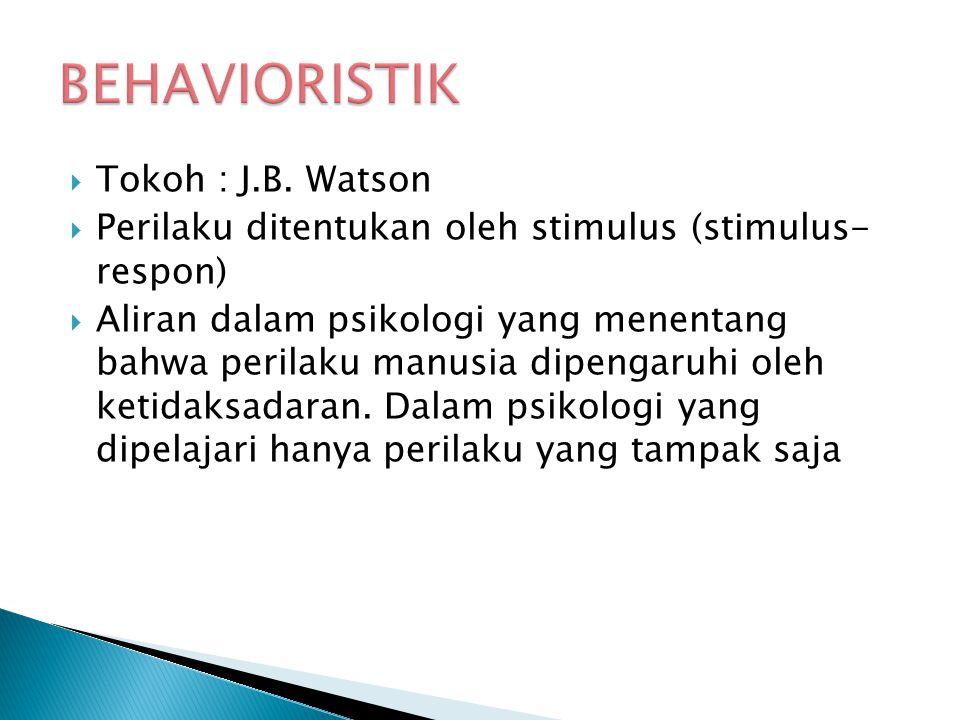  Tokoh : J.B.