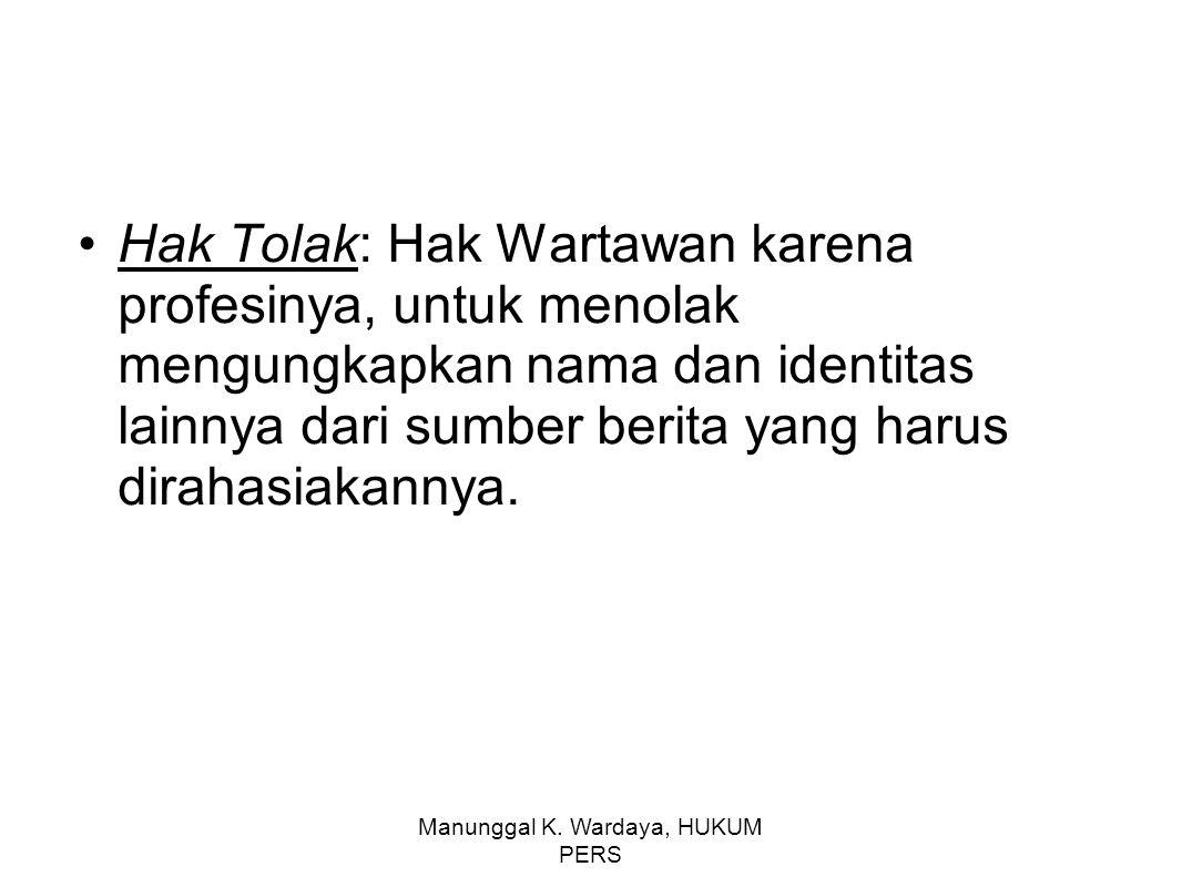 Manunggal K.