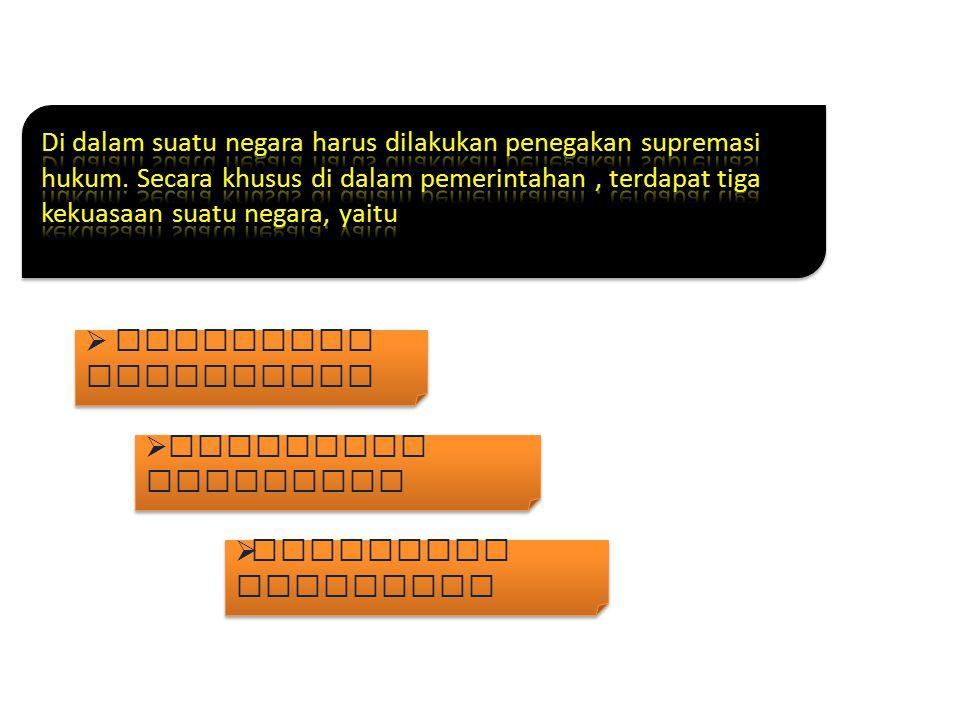 * Strategi penegakan supremasi hukum yang berintikan keadilan hukum dalam konsep bernegara di Indonesia berdasarkan Pancasila.