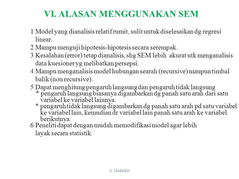 C MAKSUM VI.