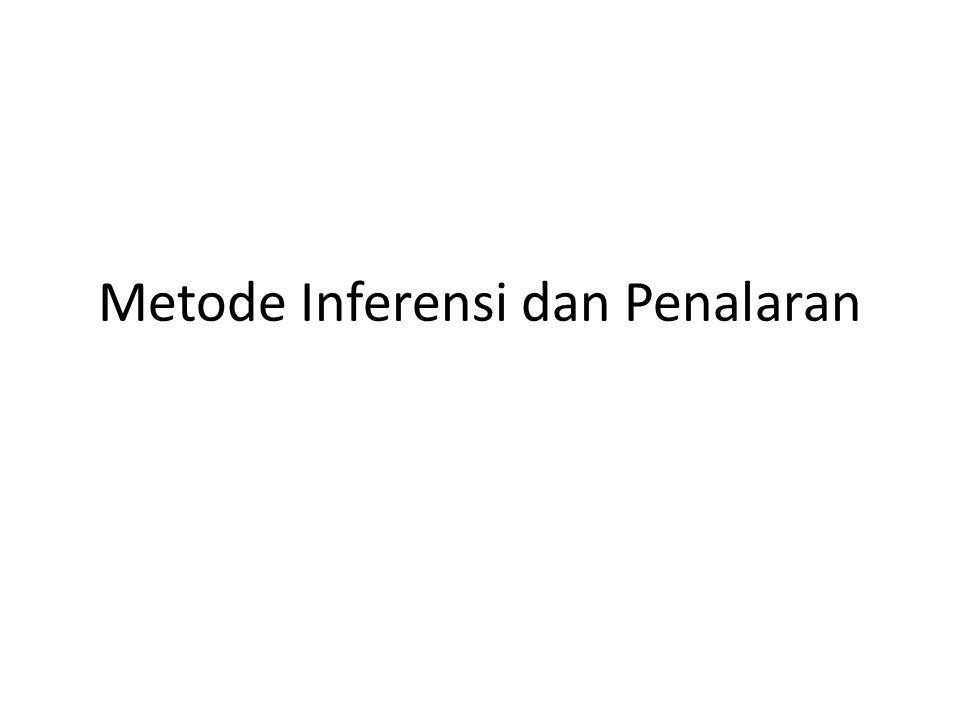 Metode Inferensi dan Penalaran