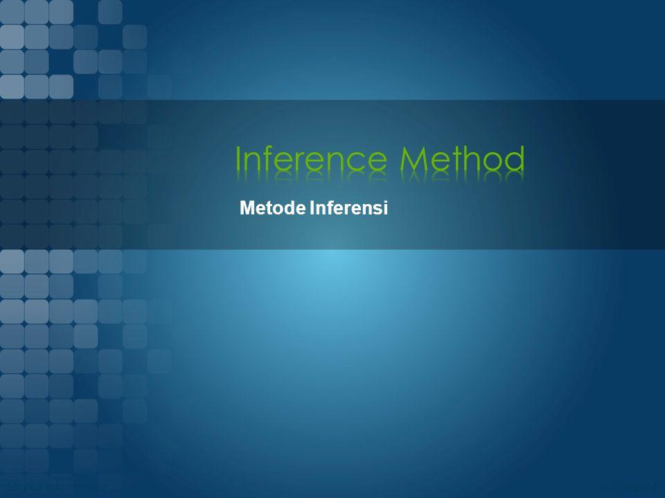Kaidah metode-metode inferensi pada dasarnya adalah sebuah tautologi.