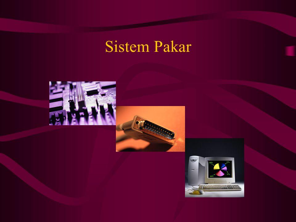 Definisi Sistem pakar adalah suatu program komputer yang dirancang untuk mengambil keputusan seperti keputusan yang diambil oleh seorang atau beberapa orang pakar.