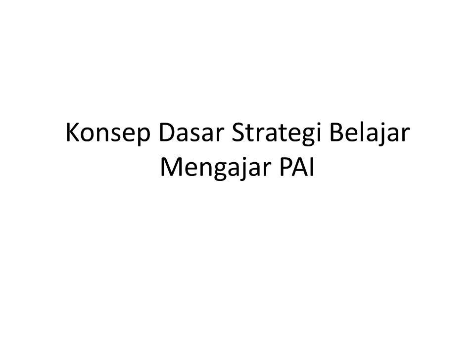 Strategi Pembelajaran ▪ Istilah Strategi Pembelajaran terdiri dr 2 kata; 1.