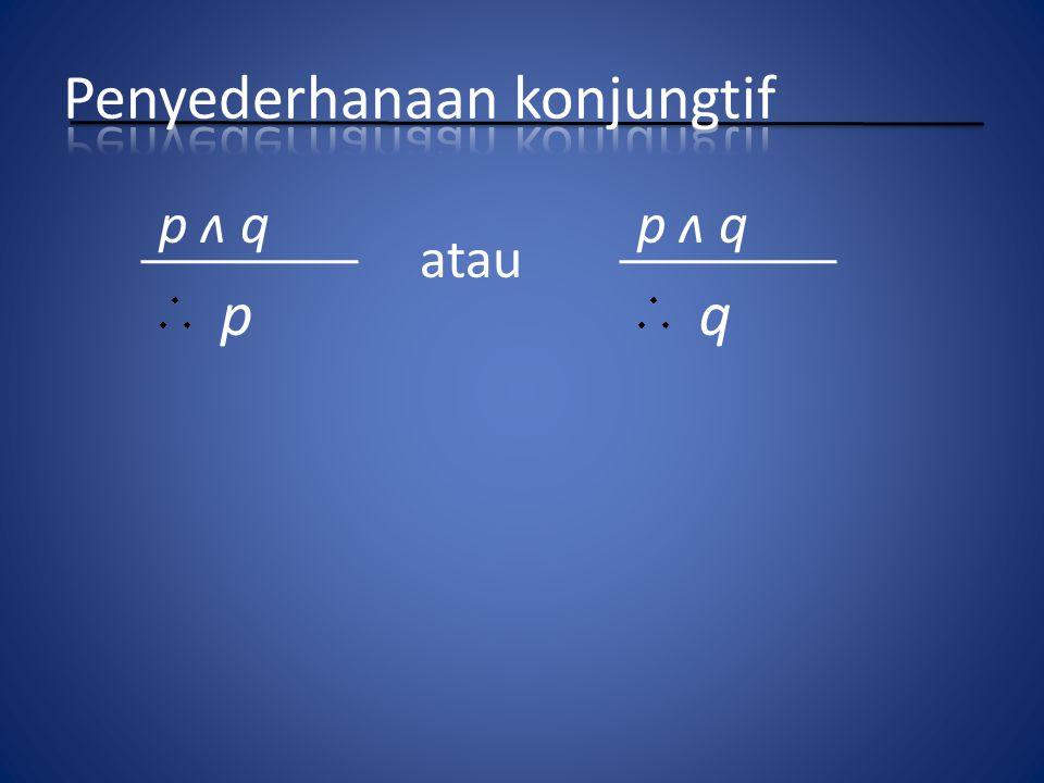 p ʌ q p q atau