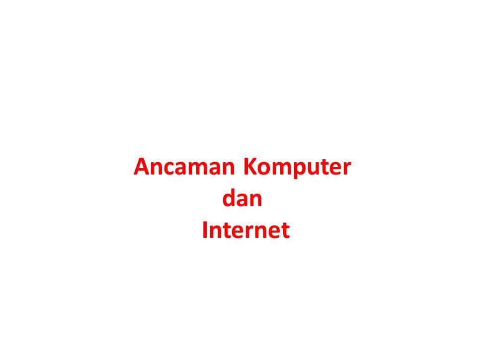 1.Adware 2.Brute Force 3.DDoS 4.Exploit 5.Fake Antivirus 6.Hoax 7.Keylogger 8.Malware 9.Phising 10.Rookit 11.Spam 12.Spyware 13.Trojan 14.Worm