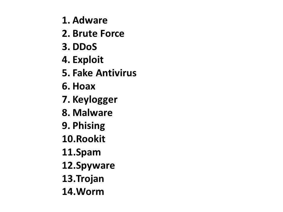 CyberCrime Contoh Kasus CyberCrime ·) Pencurian dan penggunaan account Internet milik orang lain · ) Denial of Service (DoS) dan Distributed DoS (DDos) attack ·) Membajak situs web