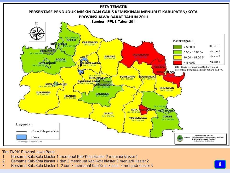 Alokasi Dana Bantuan ke Kabupaten/Kota Tahun 2014 dan 2015* (*Data Sementara) WILAYAH BOGOR NOURAIAN ANGGARAN (Rp).