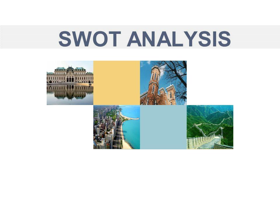 SWOT Analysis Analisis SWOT akan memberikan informasi kepada manajer mengenai dimana posisi organisasi dalam persaingan.