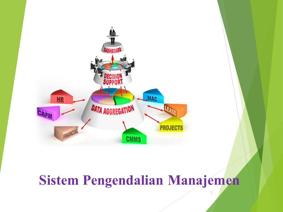 Sistem Pengendalian Manajemen 1