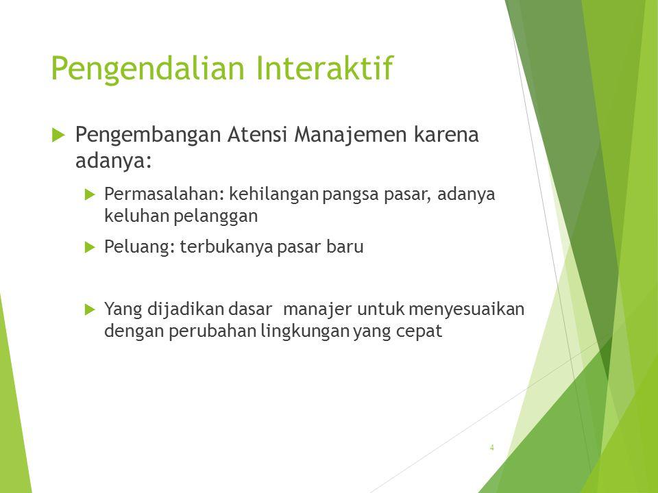  Variasi dalam Pengendalian Manajemen  Aneka Pengendalian untuk aneka strategi  Organisasi Jasa  Organisasi Multinasional  Pengendalian Manajemen Proyek 15