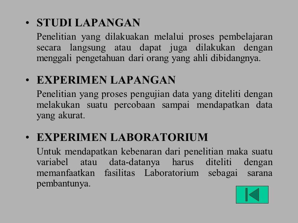 PENELITAN DESKRIPTIF Penelitian yang digunakan untuk memberikan penjelasan yang obyektif, justifikasi, dan evaluasi sebagai bahan pengambilan keputusa