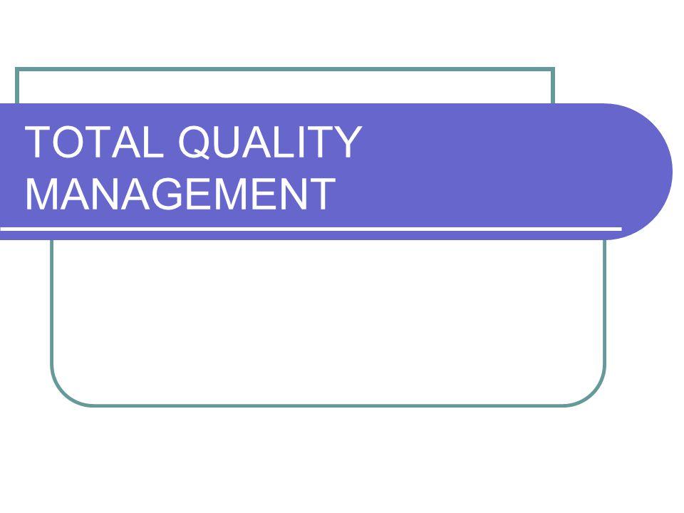 Kepemimpinan dan Manajemen Dalam TQM Kepemimpinan dan Manajemen satu kesatuan yang tidak dapat dipisahkan.