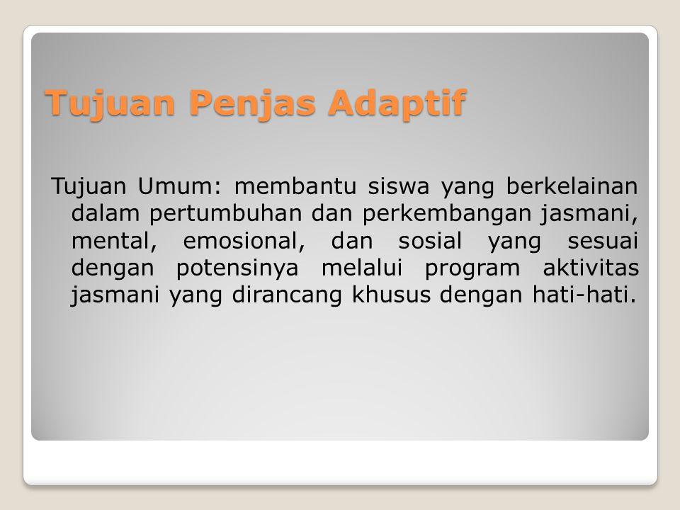Hubungan Olahraga Pendidikan dan Olahraga Adaptif 1.