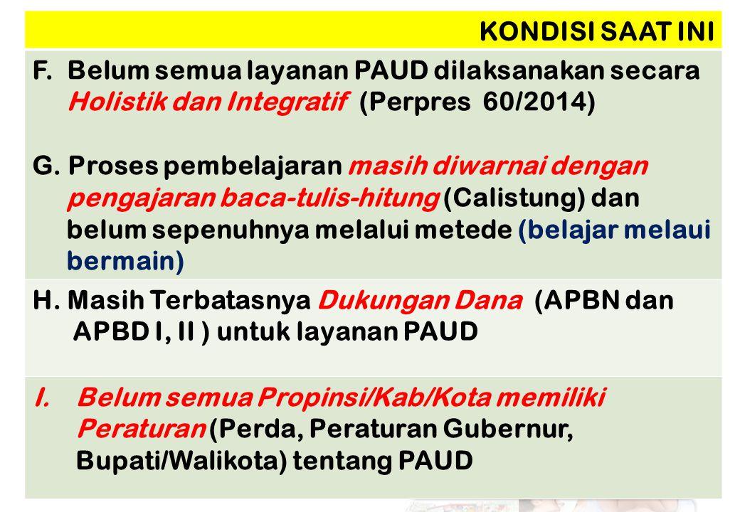 No Satuan PAUD Pendidik Total Pendidik ≥D4/S1%D2 - D3%< D2% 1TK/RA/BA 38.978 15,473.14629,0140.515 55,6 252.639 2KB 16.797 17,216.15916,564.960 66,3 9