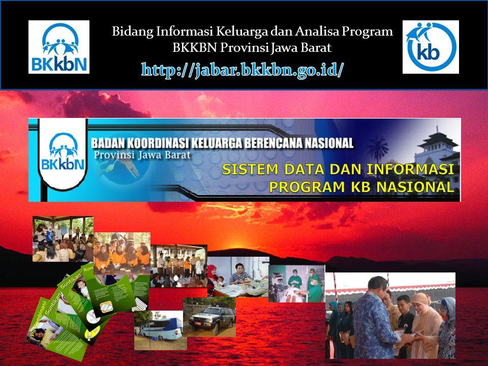 Bidang Informasi Keluarga dan Analisa Program BKKBN Provinsi Jawa Barat