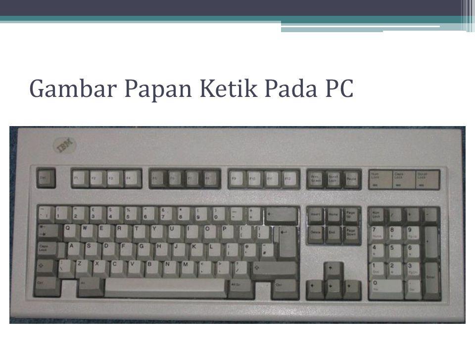 Gambar Papan Ketik Pada PC