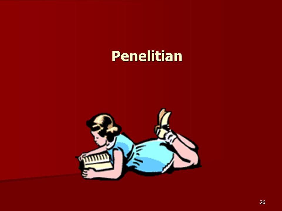 26 Penelitian