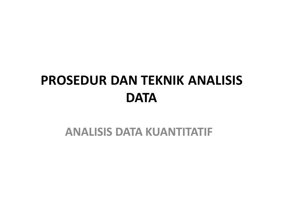 Analisa data: 1. Menjelaskan hasil, termasuk kalau hasilnya tidak sesuai hipotesa, jelaskan mengapa demikian? 2. Hasil dikaitkan dengan siapa objek pe