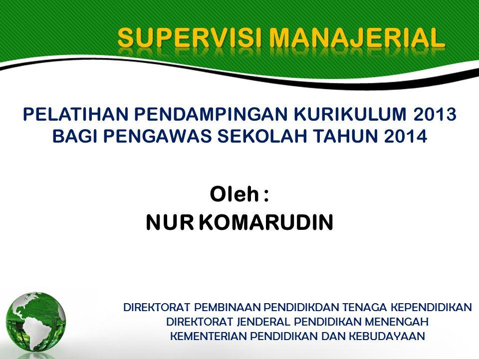 KB -2 PENYUSUNAN INSTRUMEN SUPERVISI MANAJERIAL