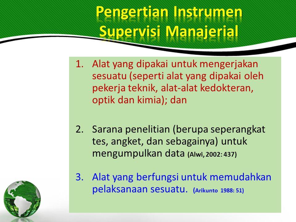 Supervisi manajerial merupakan kegiatan supervisi berkenaan dengan aspek pengelolaan sekolah yang terkait langsung dengan peningkatan efisiensi dan ef