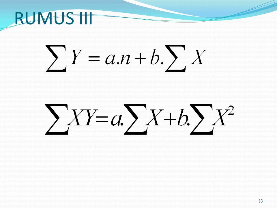 RUMUS III 13
