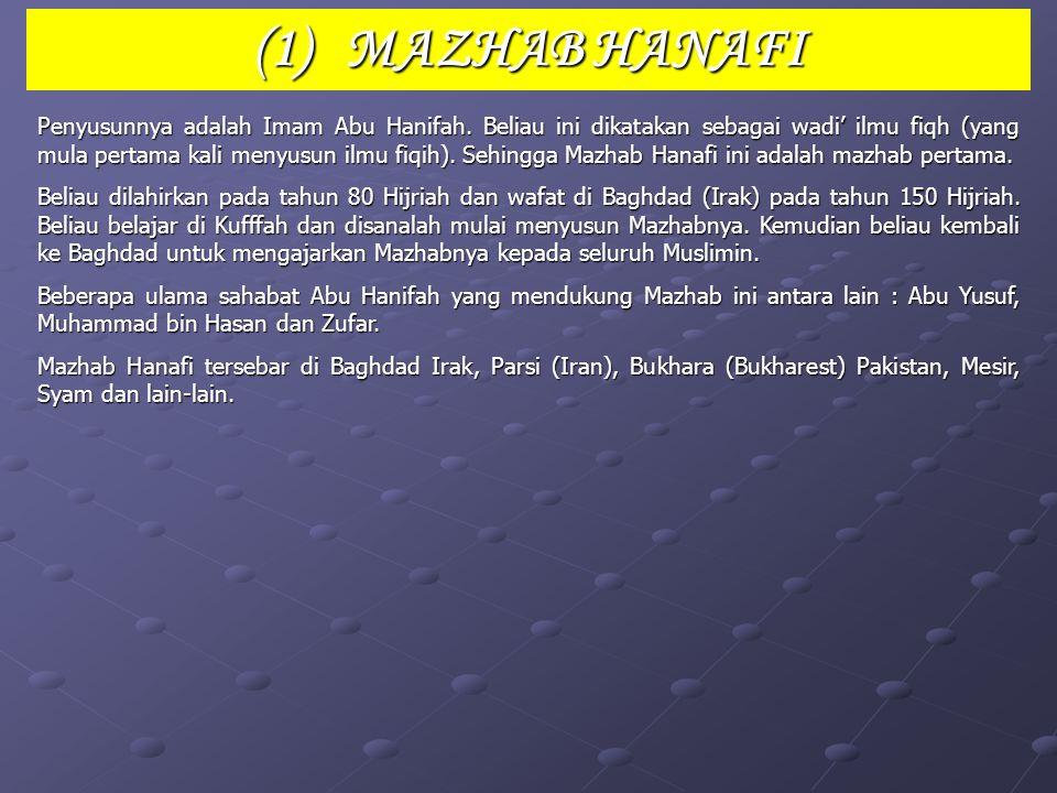 MAZHAB 4 (EMPAT)