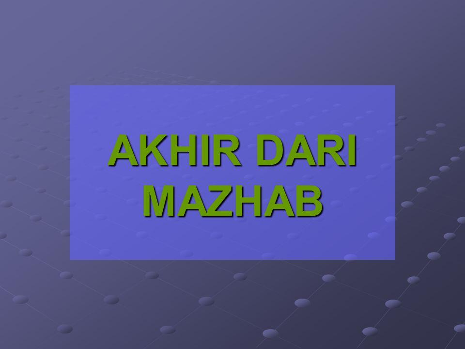 Sebagaimana telah dikatakan bahwa alim ulama dan cerdik pandai dalam menghadapi persoalan, apabila mereka tidak menemukan nas (dalil) dalam Al Quran d