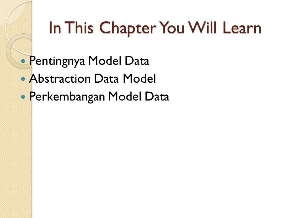 Pentingnya Data Model ??.1. Follows Business Rules 2.
