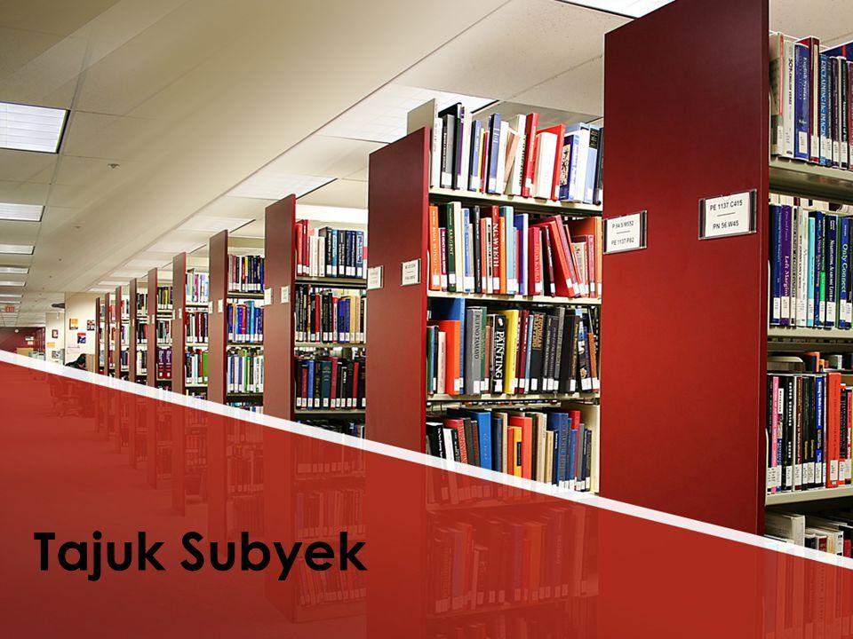 Tajuk Subyek