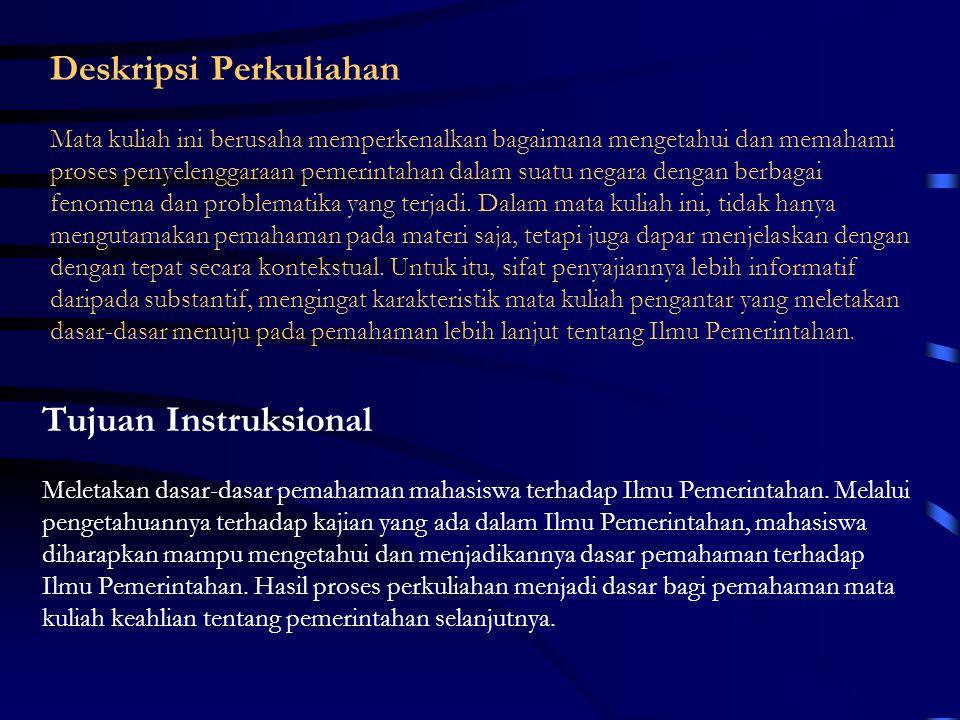 Kekuasaan dan Kewenangan dalam Pemerintahan By: Yana Syafrie Jurusan Ilmu Pemerintahan UMM Jl.