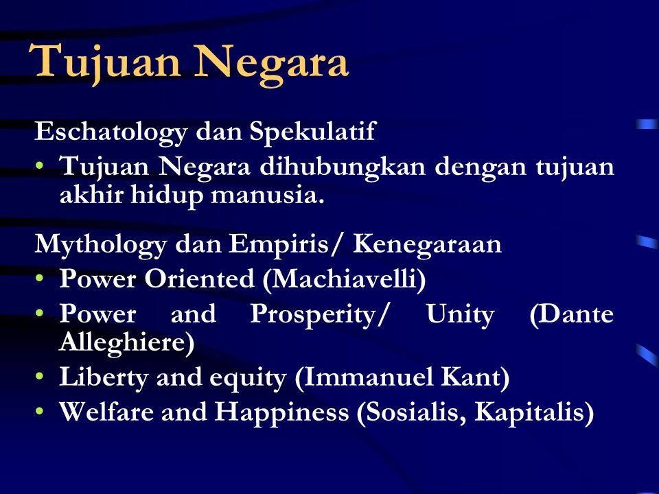 Continue… Tinjauan Sosiologis Tinjauan Politis Tinjauan Yuridis Tinjauan Obyektif Sifat Hakikat Negara Unity Nation Power Org.