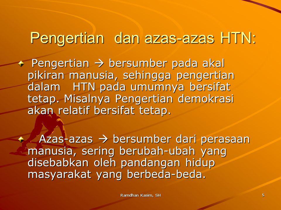 6 Pengertian HTN: C.