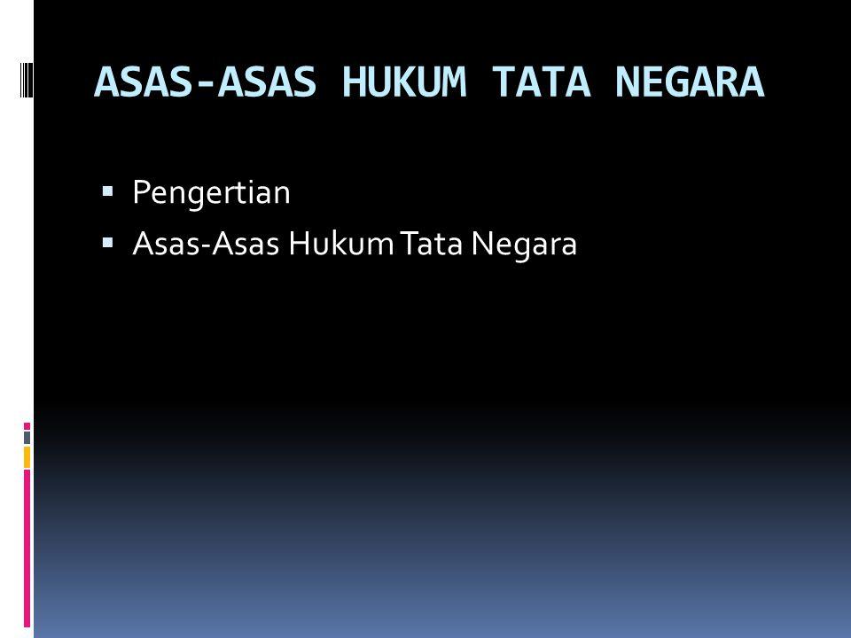 SISTEM PEMERINTAHAN REPUBLIK INDONESIA  Lembaga-Lembaga Negara Menurut UUD  Lembaga-Lembaga Independen