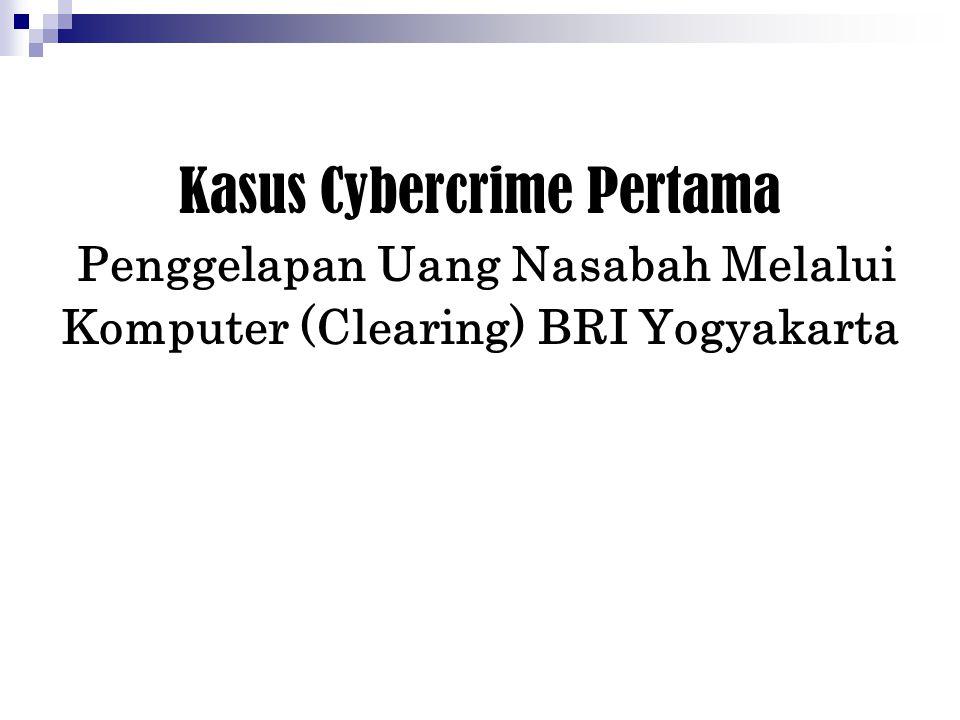 Kasus Cybercrime Kesembilan Hacker web site GOLKAR